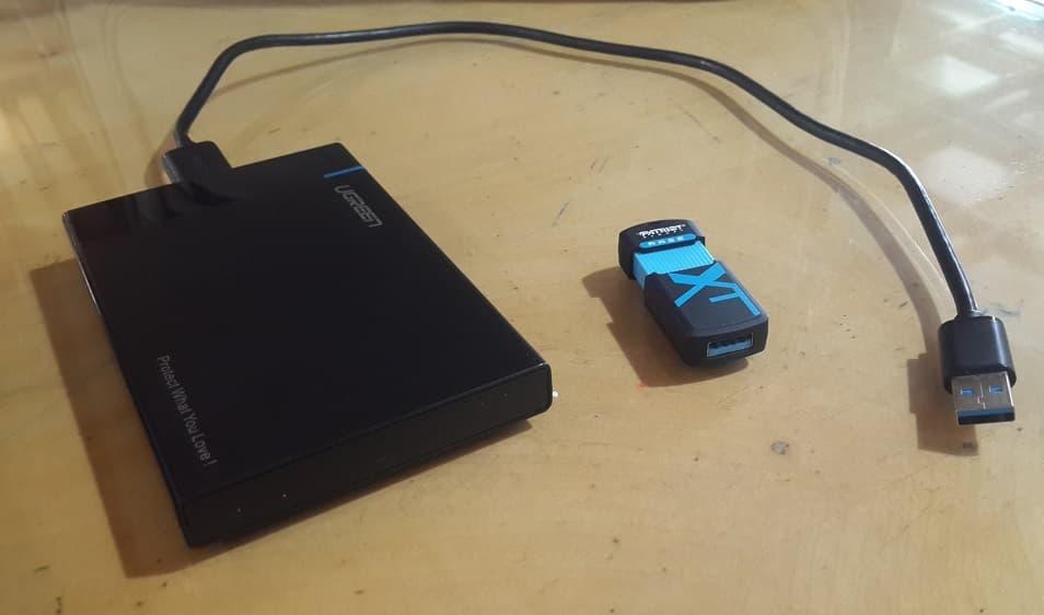 حل مشکل write protected از USB drives و memory card