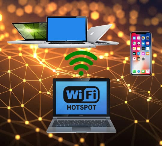 اشتراک گذاری اینترنت لپ تاپ و کامیپوتر در ویندوز (PC & Laptop)