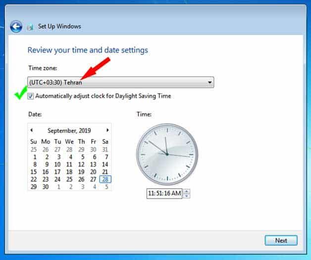 اموزش نصب ویندوز 7