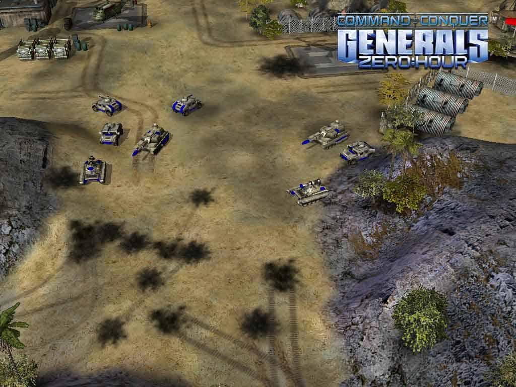 دانلود بازی جنرال 1 و 2 C&C generals zero:hour