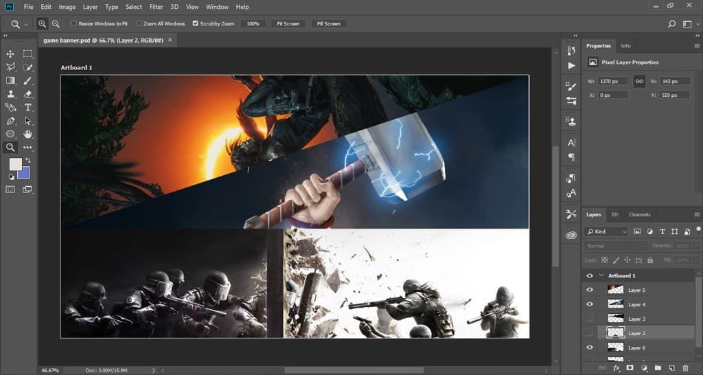 دانلود نرمافزار فتوشاپ Adobe Photoshop 2018 x64