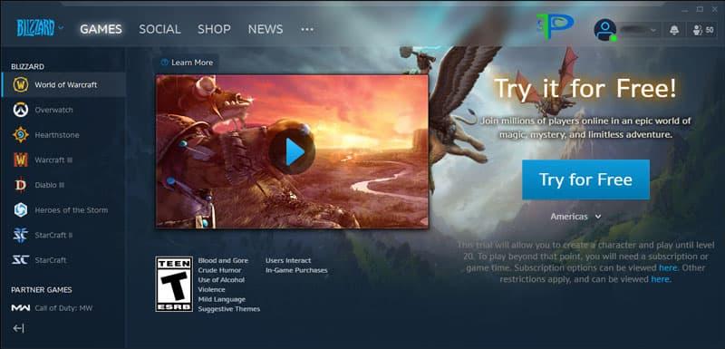 دانلود برنامه Blizzard Battle.net برای کامپیوتر PC و موبایل ( اندروید و iOS )