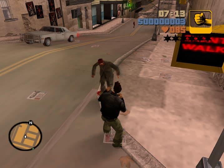 دانلود بازی جی تی ای 3 ( GTA III ) برای کامپیوتر PC