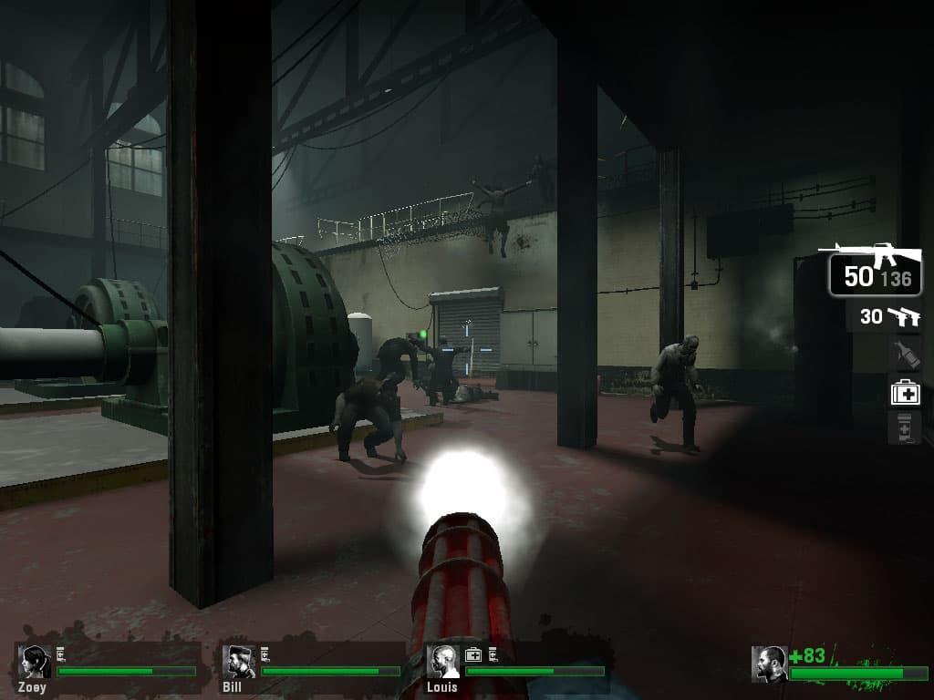دانلود بازی Left 4 Dead (چهار بازمانده) برای کامپیوتر PC