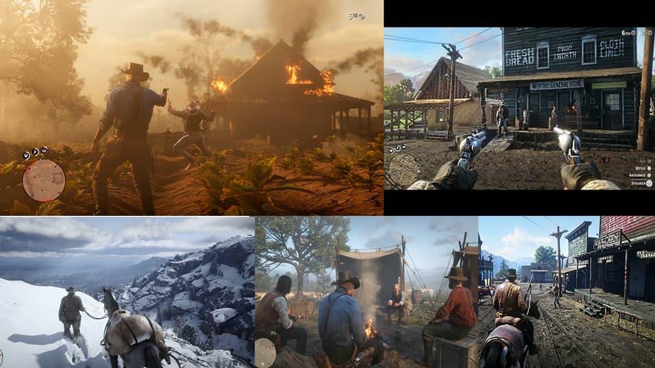 دانلود بازی Red Dead Redemption 2 برای کامپیوتر PC - رد دد ریدمپشن دو