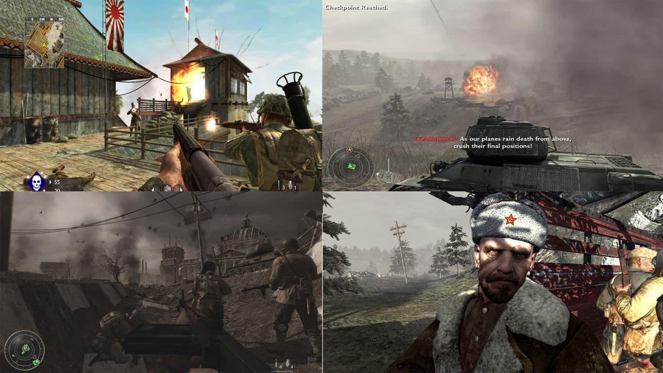 دانلود بازی Call Of Duty: World at War برای کامپیوتر PC