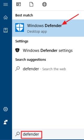 غیرفعال کردن windows defender در ویندوز 10