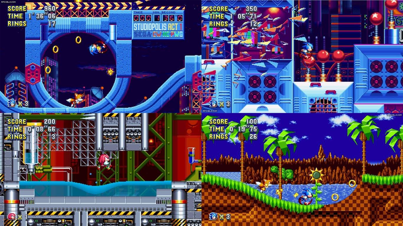 دانلود بازی سونیک مانیا پلاس (Sonic Mania Plus) برای کامپیوتر PC