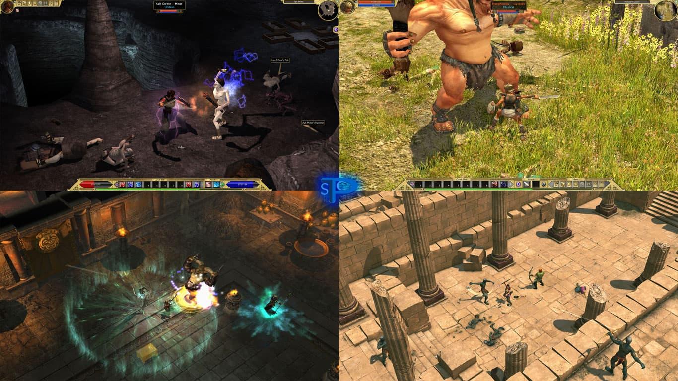 دانلود بازی Titan Quest: Anniversary Edition برای کامپیوتر PC