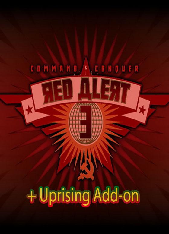 دانلود بازی Command & Conquer: Red Alert 3 + Uprising Add-on برای کامپیوتر PC