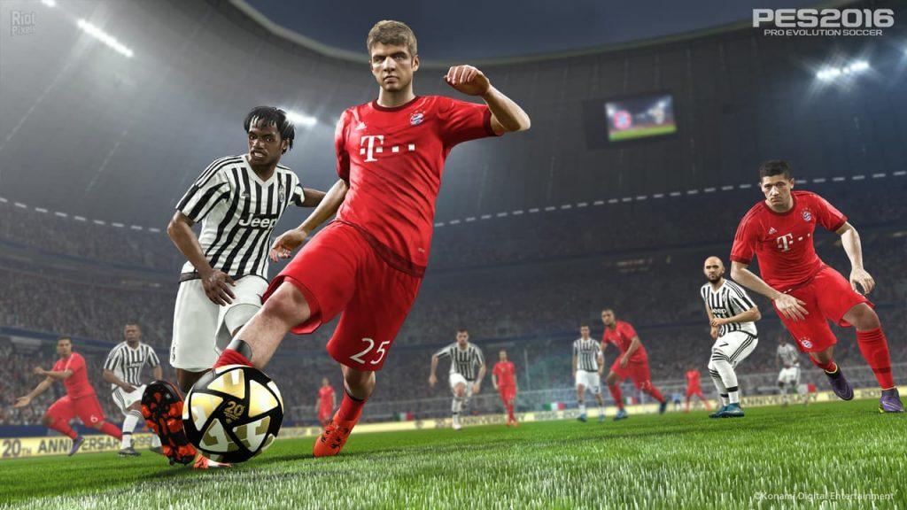 دانلود بازی Pro Evolution Soccer 2016 برای کامپیوتر PC - PES