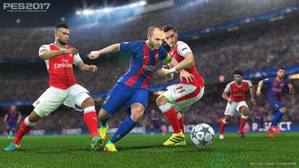 دانلود بازی Pro Evolution Soccer 2017 برای کامپیوتر PC - pes