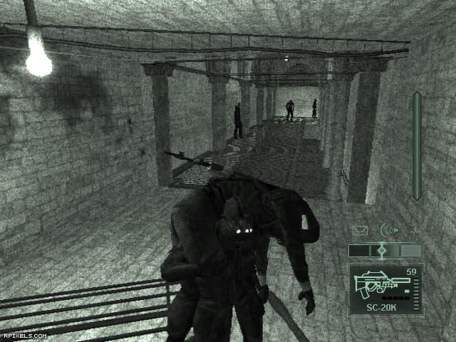 دانلود بازی Splinter Cell: Pandora Tomorrow برای کامپیوتر PC