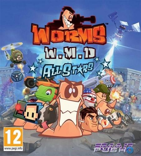 دانلود بازی Worms W.M.D برای کامپیوتر PC - جنگ کرم ها