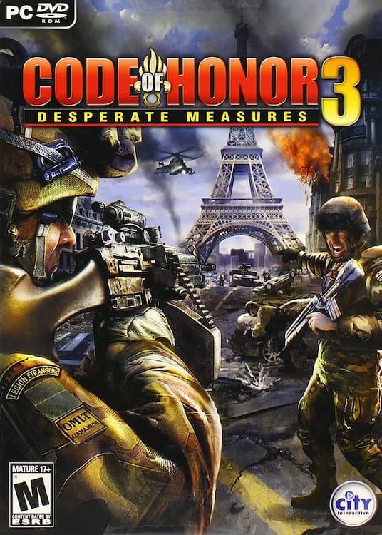 دانلود بازی Code of Honor 3: Desperate Measures برای کامپیوتر PC