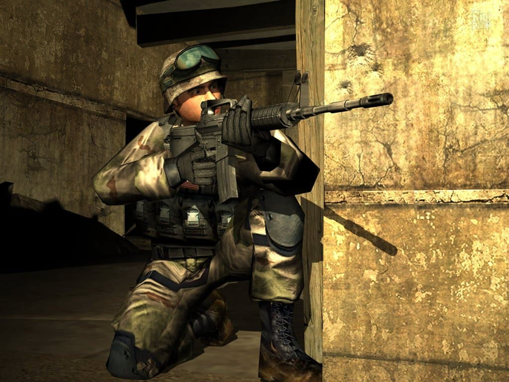 دانلود بازی Delta Force: Black Hawk Down برای کامپیوتر PC - نیروی دلتا سقوط شاهین سیاه