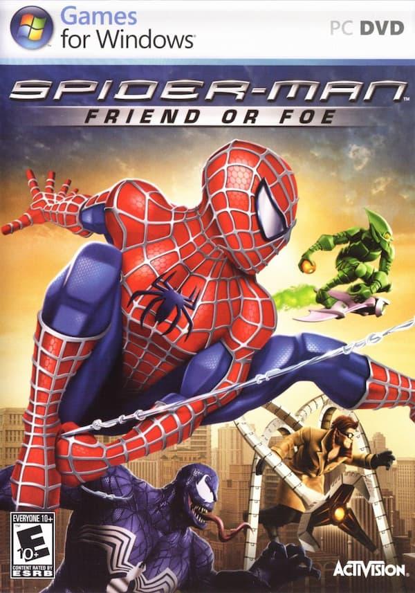 دانلود بازی Spider Man: Friend or Foe برای کامپیوتر PC